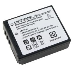 INSTEN Compatible Li-ion Battery for Panasonic CGA-S007/ CGR-S007
