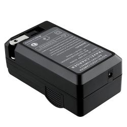 BasAcc Compact Battery Charger Set for Panasonic DMW-BLE