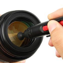 INSTEN Black Camera Lens Cleaning Pen Kit - Thumbnail 1