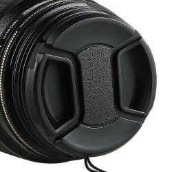INSTEN 58-mm Black Camera Lens Cap