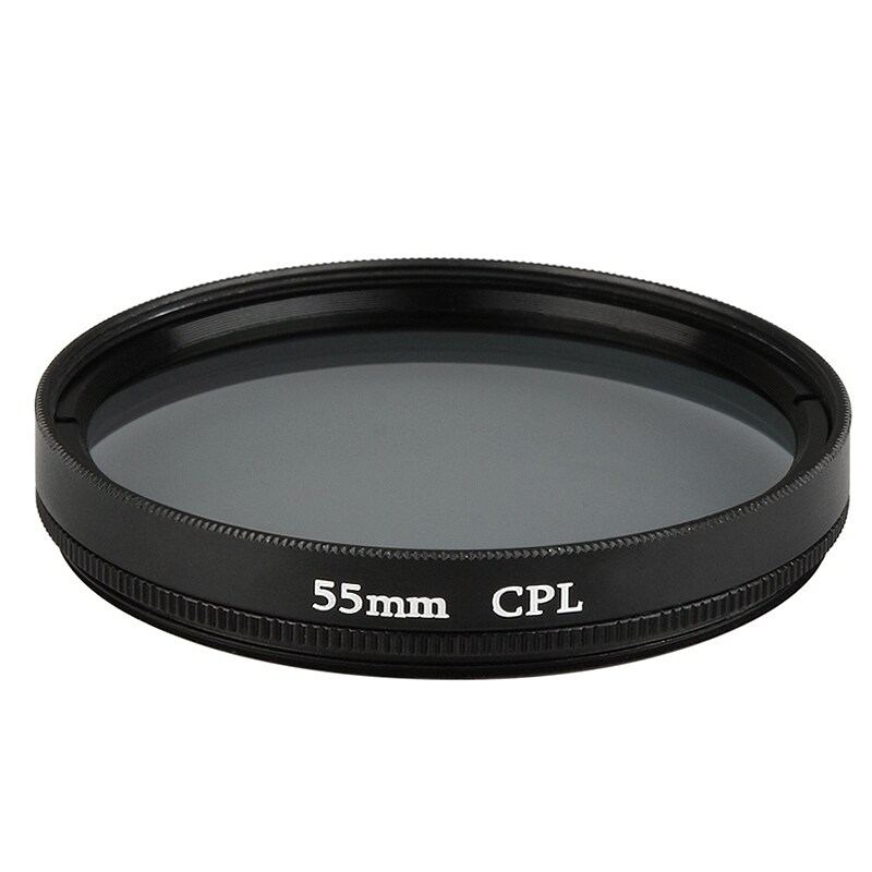 INSTEN 55-mm Black Circular Polarizing Lens Filter