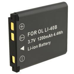 INSTEN Compatible Li-ion Battery for Olympus Li-40B/ Nikon/ Fuji