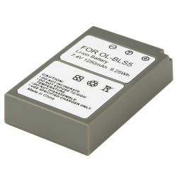 BasAcc Compatible Li-ion Battery for Olympus BLS5