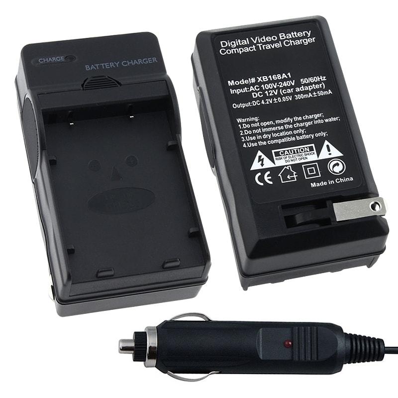 INSTEN Compact Battery Charger Set for Nikon EN-EL5