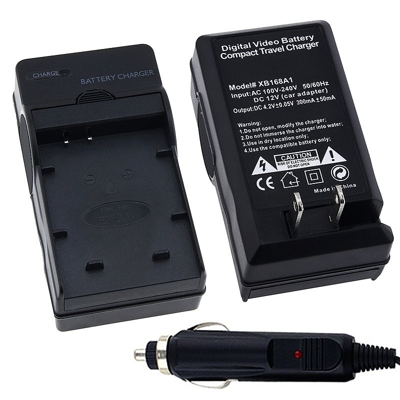 INSTEN Compact Battery Charger Set for Nikon EN-EL12