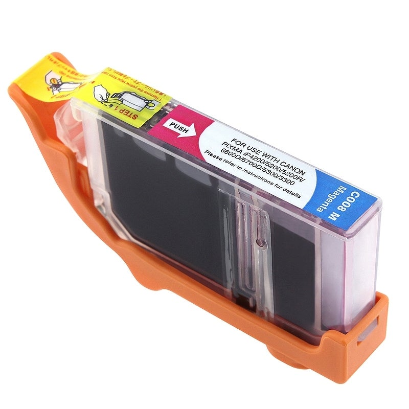 Insten Magenta Non-OEM Ink Cartridge Replacement for Canon CLI-8M/ 8 M