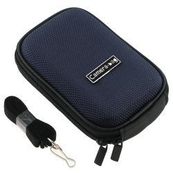 INSTEN Dark-blue Heavy-duty Nylon Universal Digital Camera Phone Case Cover