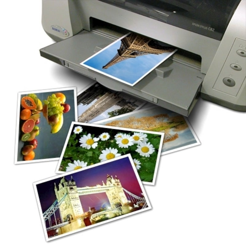 INSTEN Glossy Photo Paper (Pack of 20)