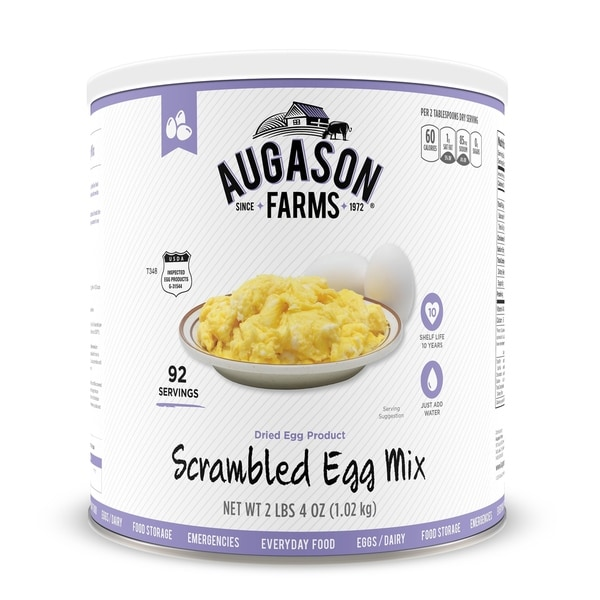 Augason Farms Scrambled Egg Mix 36 oz No. 10 Can