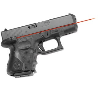 Crimson Trace Lasergrip for Glock Fourth Generation Sub-compact Pistols