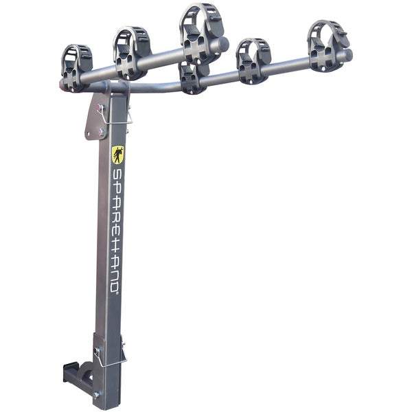 "SpareHand ""Elevation VR-701"" Hitch Mount 3 Bike Carrier / Rack -- for both 2"" & 1-1/4"" hitch receivers"