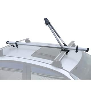 "SpareHand ""Linear VR-835"" Roof Mount Bike Carrier w/ Aluminum Rail https://ak1.ostkcdn.com/images/products/6651559/6651559/SpareHand-Linear-VR-835-Roof-Mount-Bike-Carrier-w-Aluminum-Rail-P14213096.jpg?impolicy=medium"