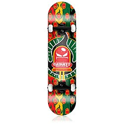Radiate Skateboard Ride the Light - Rasta Logo