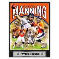 Denver Broncos Peyton Manning Photo Plaque