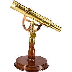 Anchormaster Scope with Mahogany Desktop Pedestal (6 x 30)