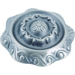 Fluted Collection Pewter 1.6-inch Cabinet Knobs (Pack of 12)