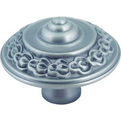 St. Germain Collection Pewter 1.6-inch Cabinet Knobs (Pack of 12)