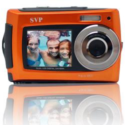 Aqua 5800 Orange 18MP Orange Digital Camera - Thumbnail 1