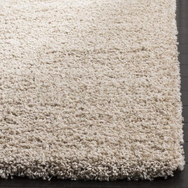 carpet 15 x 15. safavieh california cozy plush beige shag rug (11\u0027 x 15\u0027) - free shipping today overstock.com 14213427 carpet 15