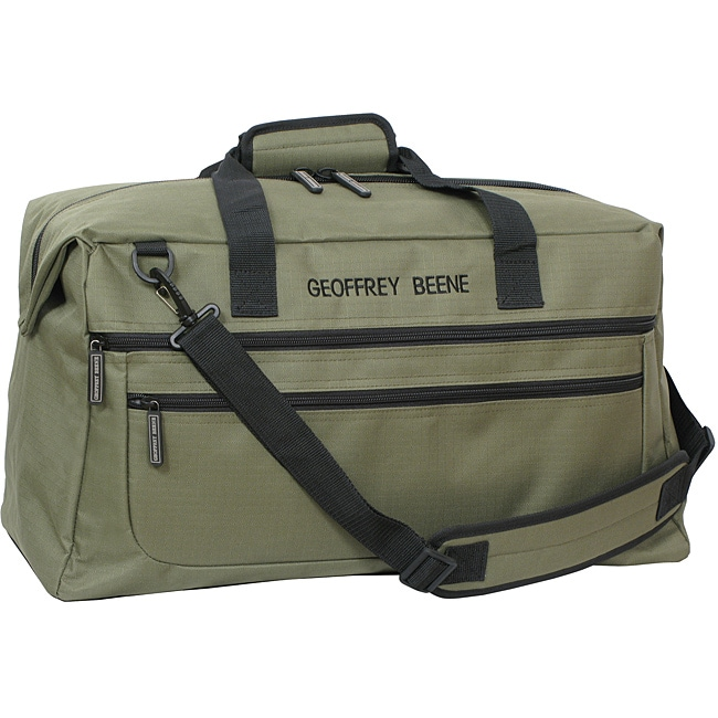 a7494e6ed956 Shop Geoffrey Beene Olive 26-inch Weekender Duffel - Free Shipping Today -  Overstock - 6652228