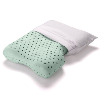 Dream Form Dual Comfort Memory Foam Pillow with Cover