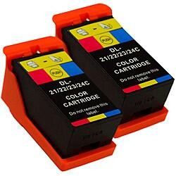 Sophia Global Dell 21 Compatible Color Ink Cartridges (Pack of 2)