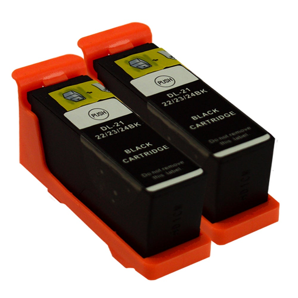 Sophia Global Dell 21 Compatible Black Ink Cartridges (Pack of 2) - Thumbnail 0
