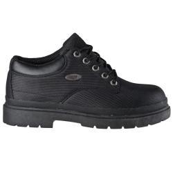 Lugz Men's 'Drifter Lo Ballistic' Black Nylon Boots - Thumbnail 1