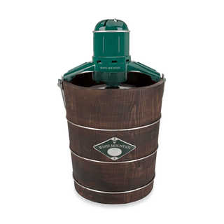 White Mountain PBWMIME412 4-quart Wood Tub Electric Ice Cream Maker