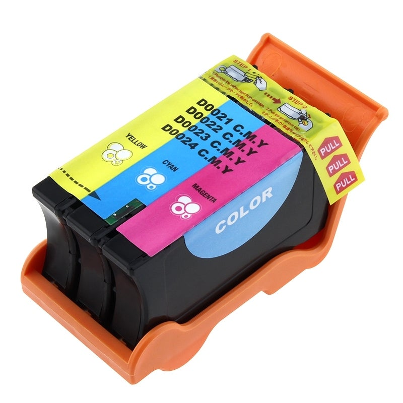 INSTEN Dell 21/ 22/ 23/ 24/ XG8R3/ TO94N Compatible Color Ink Cartridge