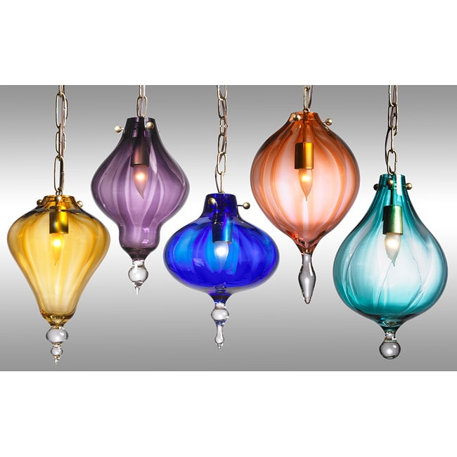Fashion Modern Pendant Hand-crafted Droplets Chandelier