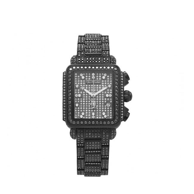 Joe Rodeo Women's Madison Black Diamond Watch
