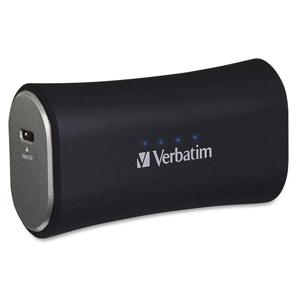 Verbatim Portable Power Pack, 2200mAh - Black