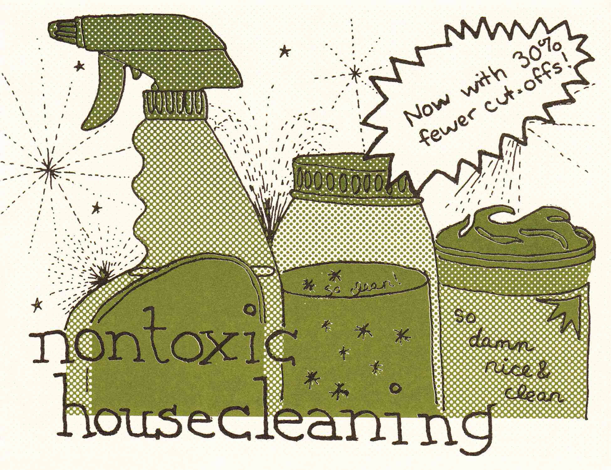 Nontoxic Housecleaning (Pamphlet)