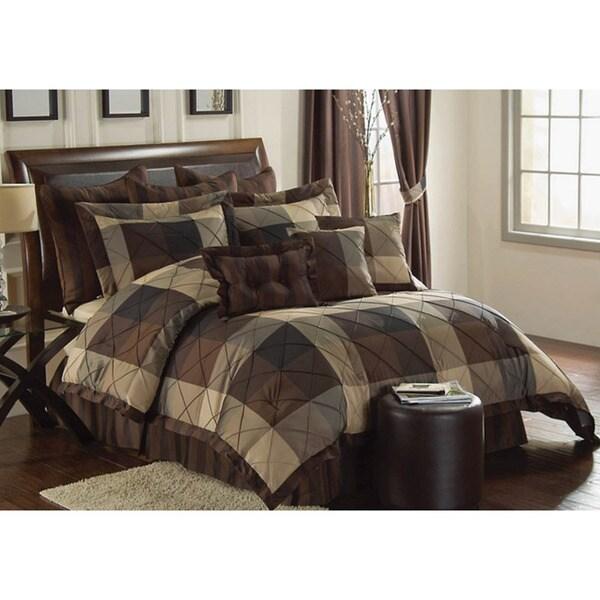 VCNY Carlton Oversized King-size 10-piece Comforter Set