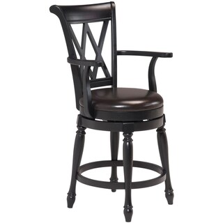 Home Styles Monarch Bar Stool Black Finish
