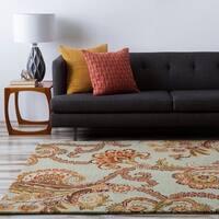 Hand-tufted Blue Ora Wool Area Rug - 3'3 x 5'3