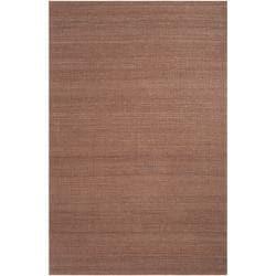 Hand-woven Brown Beringer Reversible Jute Rug Area Rug (5' x 8') - Thumbnail 0