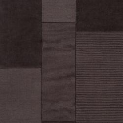 Hand-crafted Solid Grey Barrett Wool Rug (3'3 x 5'3) - Thumbnail 2