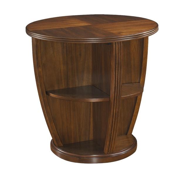 Somerton Dwelling Gracious Living Round Lamp Table