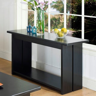 Somerton Dwelling Ebony Sofa Table