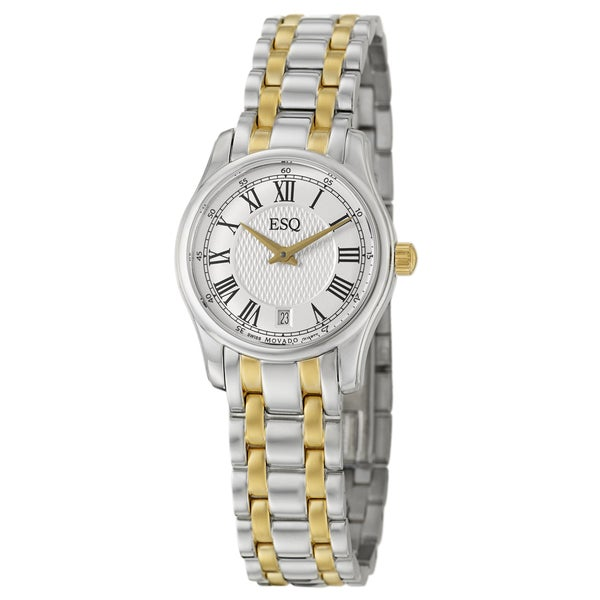 Movado Women's Swiss Filmore Two-tone Watch
