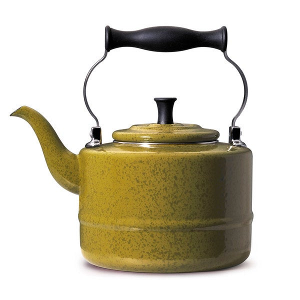 Paula Deen Signature Olive Green 2-quart Tea Kettle