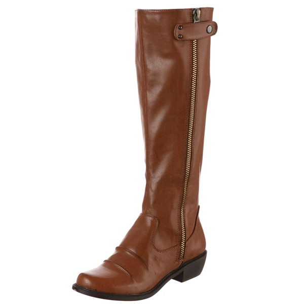 MIA Women's 'Pali' Luggage Riding Boots