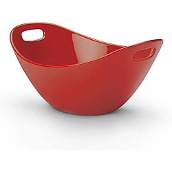 Rachael Ray Serveware 15-inch Salad Bowl, Red
