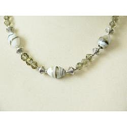 'Graystoke' Necklace and Earring Set - Thumbnail 1