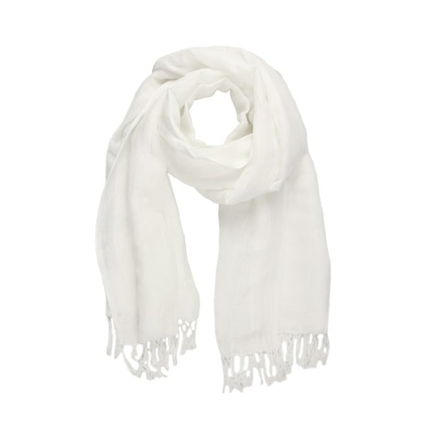 Saachi Women's Solid Linen Rayon Scarf (India)