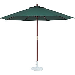 TropiShade 11-foot Wood Green Market Umbrella