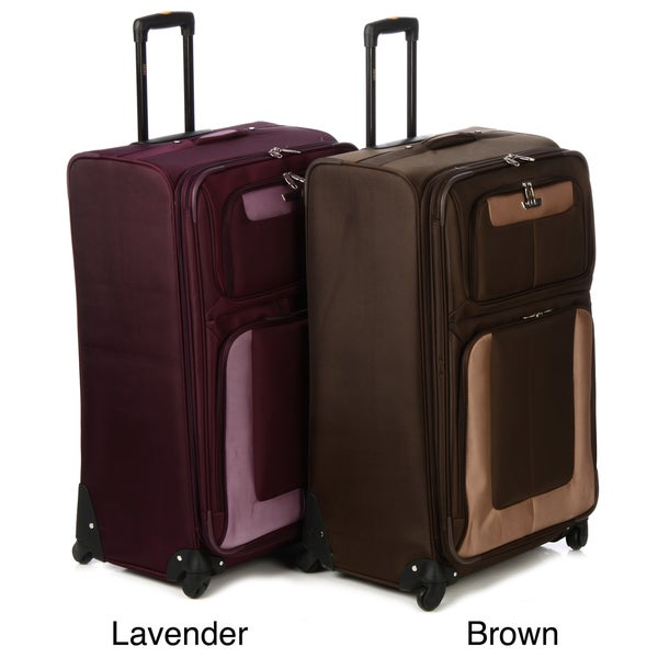 Lucas Radar Three-piece Expandable Spinner Luggage Set