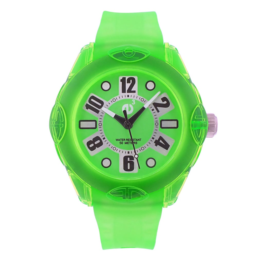 Tendence Women's Green Rainbow Watch
